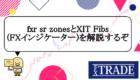 fxr sr zonesとXIT Fibs(FXインジケーター)の使い方や設定方法からメリットを解説!